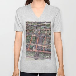 Ghost town rubble Unisex V-Neck