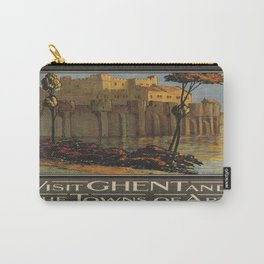Vintage poster - Ghent Carry-All Pouch