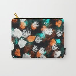 Inverted Messy Dot Pattern Carry-All Pouch
