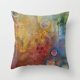 Rejuvenate: Up Close Throw Pillow