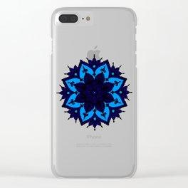 Kids Mandala Clear iPhone Case