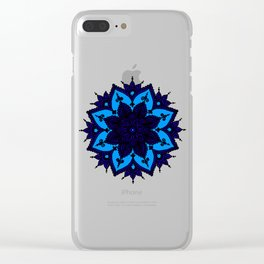 Kids Mandala Clear iPhone Case