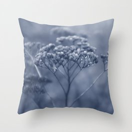 Nature in blue Throw Pillow