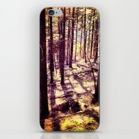 western iPhone & iPod Skins featuring Western Woods by Ken Seligson