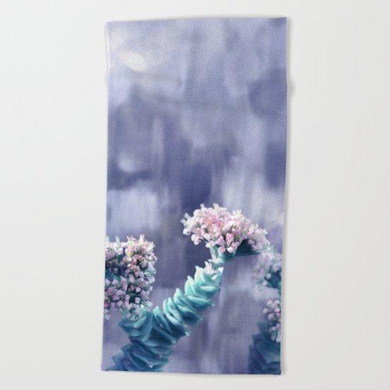 Pastel vibes floral II Beach Towel