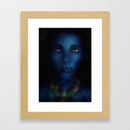 The Eyes Framed Art Print