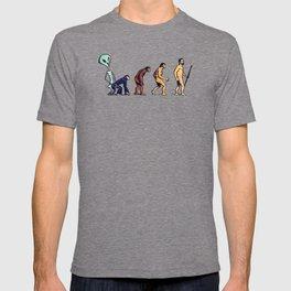 Alien Monkey Evolution T-shirt
