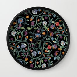 Tudor Vines Wall Clock