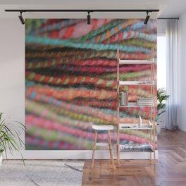 Handspun Yarn Color Pattern by robayre Wall Mural