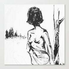 Woman No.2 Canvas Print