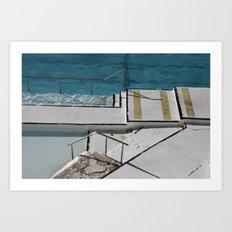 Bondi Icebergs Art Print