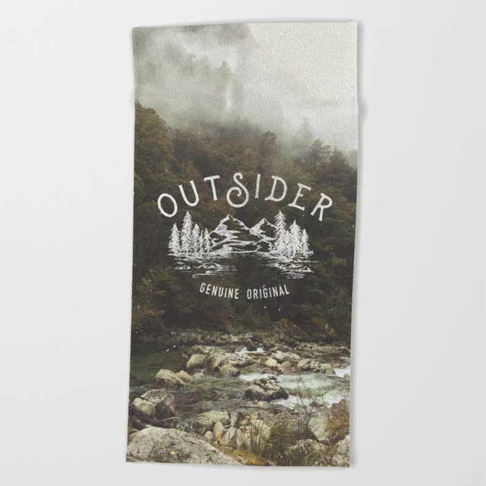 Outsider Beach Towel
