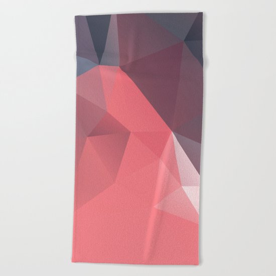 Geometric XXI Beach Towel