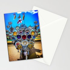 Mod Scooter Stationery Cards