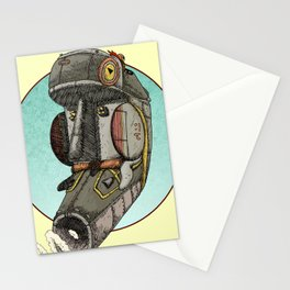 The Ship and the Mask Stationery Cards