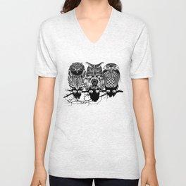 Owls of the Nile Unisex V-Neck