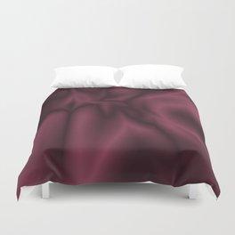 Burgundy silk Duvet Cover