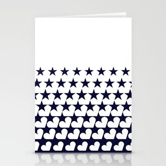 Love Among Stars Stationery Cards