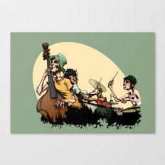 The Band II Canvas Print