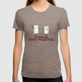 Everybody was Tofu Fighting - Funny Go Vegan Quote Gift T-shirt