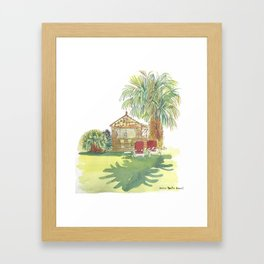 Bungalow Framed Art Print