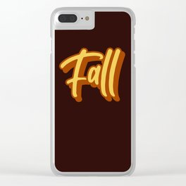 It's Fall! Clear iPhone Case