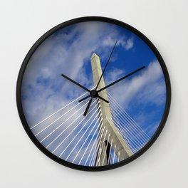 Leonard P. Zakim Bunker Hill Memorial Bridge Wall Clock