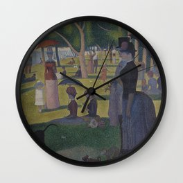 Georges Seurat - A Sunday on La Grande Jatte Wall Clock