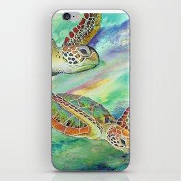 Sea Turtles iPhone Skin