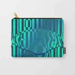 Crazy distorted ... Carry-All Pouch