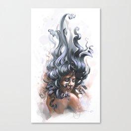 Sealady Canvas Print