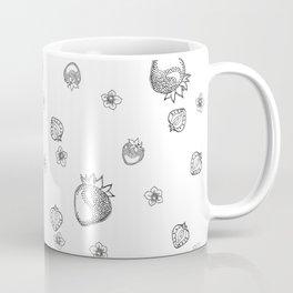 Strawberry Blossom Coffee Mug
