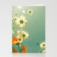 daisy Stationery Cards featuring Daisy by Cassia Beck