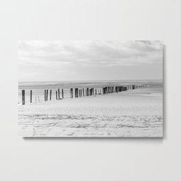 Sand Pillars Metal Print