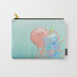 Jellyfish Bubbletea? Carry-All Pouch
