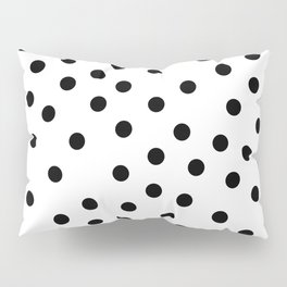 Simply Dots in Midnight Black Pillow Sham