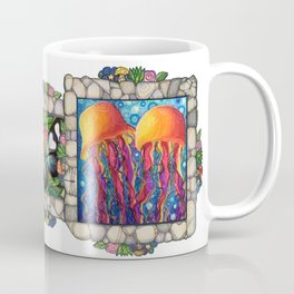 Squishy jellyfish Aloha Coffee Mug