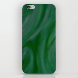 Green SWIRL iPhone Skin