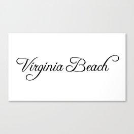 Virginia Beach Canvas Print