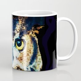 The Wise One - Owl Art By Sharon Cummings Coffee Mug