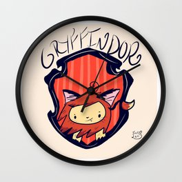 HouseGryffindor Wall Clock