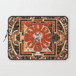 Mandala Of Hevajra Buddhist Deity Laptop Sleeve