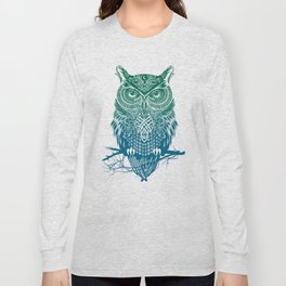 Warrior Owl Long Sleeve T-shirt