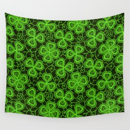 Clover Lace Pattern Wall Tapestry