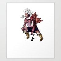 A$AP Coocky Art Print
