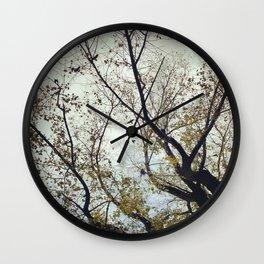 Tree of Birds Wall Clock