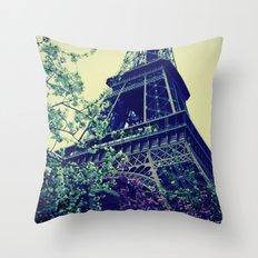 Paris, Paris Mon Amour! Throw Pillow