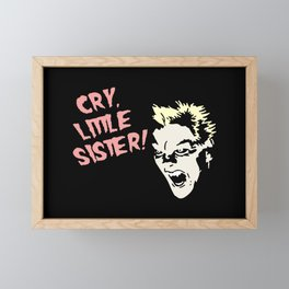 Vampire Michael, Cry! Artwork for Wall Art, Prints, Posters, Tshirts, Men, Women, Kids Framed Mini Art Print