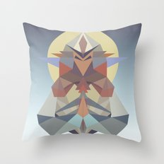 Samuradiator II Throw Pillow
