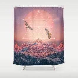 Find the Strength To Rise Up Shower Curtain